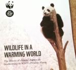 Report cover for 'Wildlife in a Warming World'