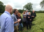 Speaking with agricultural stakeholders in the Welland river area, UK, on how to improve farm management